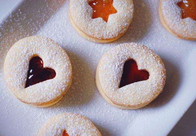 biscotti marmellata natale