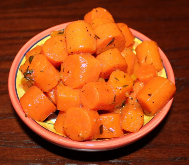 carote al burro con il Bimby