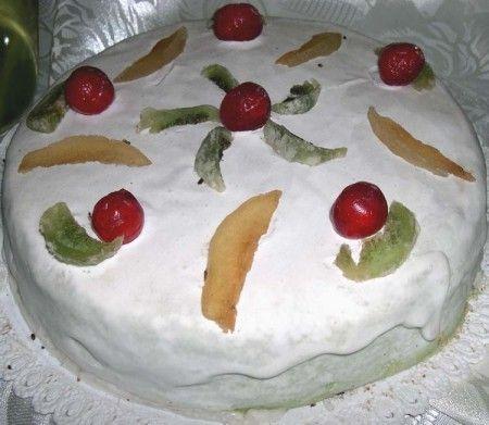 cassata bianca rossa verde