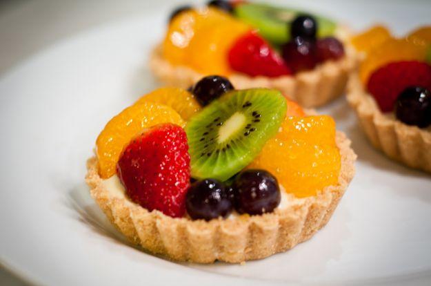 cestini di frutta in gelatina