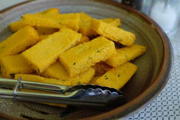 chips di polenta