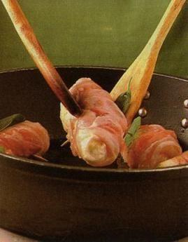 coniglio in involtini di prosciutto crudo