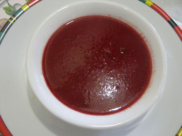 Crema di barbabietole rosse