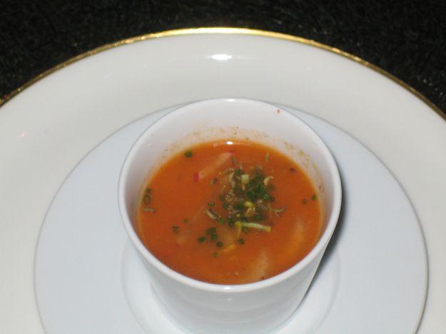 crema di carote e finocchi
