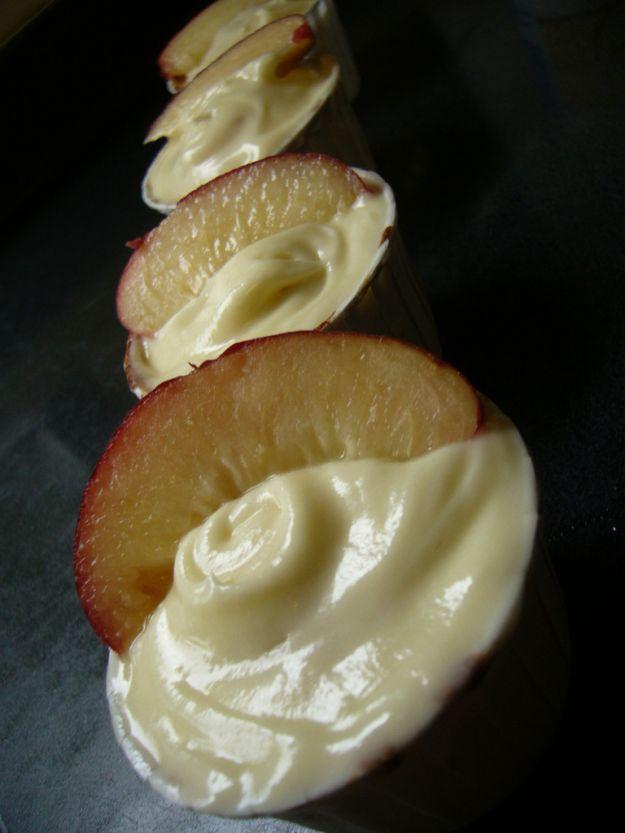 crema di pesche senza glutine