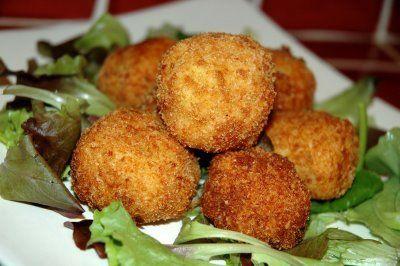 Crocchette di patate con scalogno e provolone
