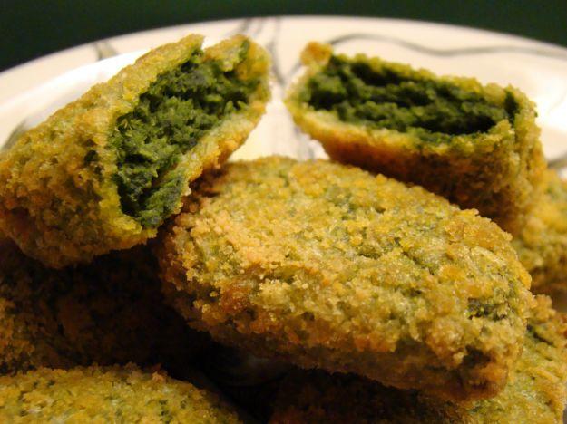 Crocchette facili di spinaci