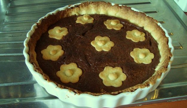 crostata con la Nutella