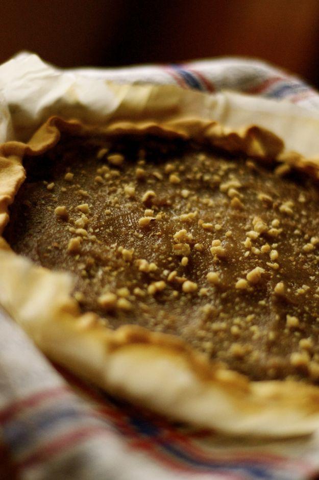 Torta con crema di castagne e cacao