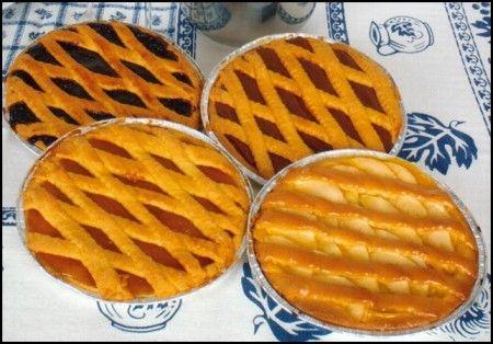 crostate con marmellate