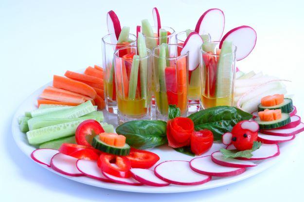 crudité di verdure in pinzimonio 1