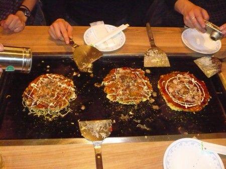 cucina giapponese okonomiyaki
