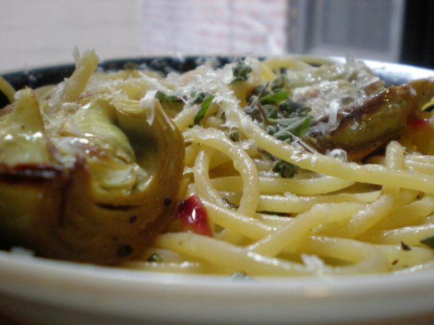 cucinare carciofi pasta