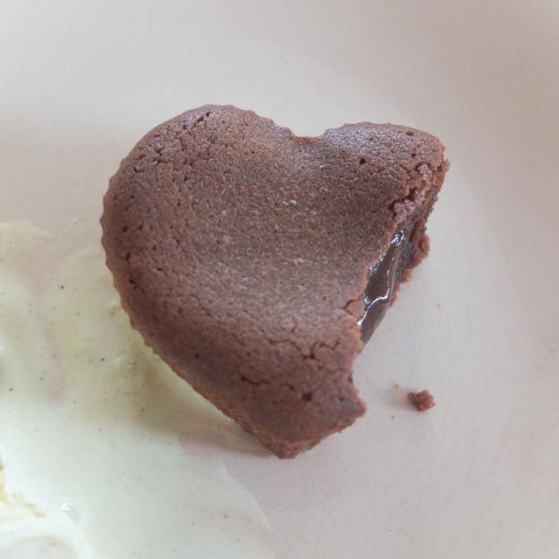 cuori fondenti al cioccolato