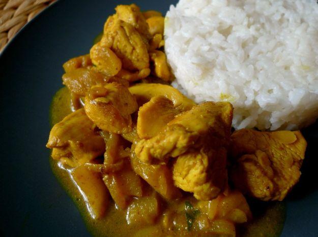 Curry di pollo al miele