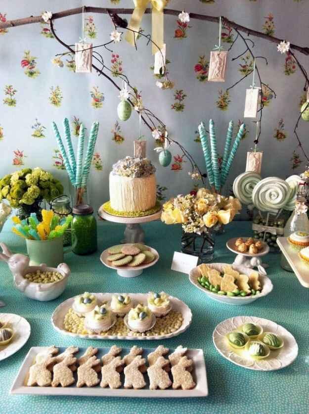 Decorazioni facili per il pranzo di Pasqua