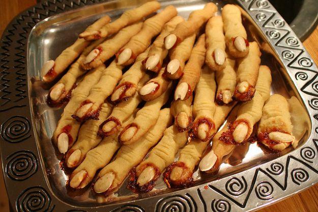 dita di strega ricette halloween