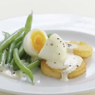 Fagiolini in salsa di uova