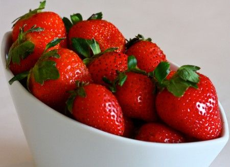 Sformato di fragole