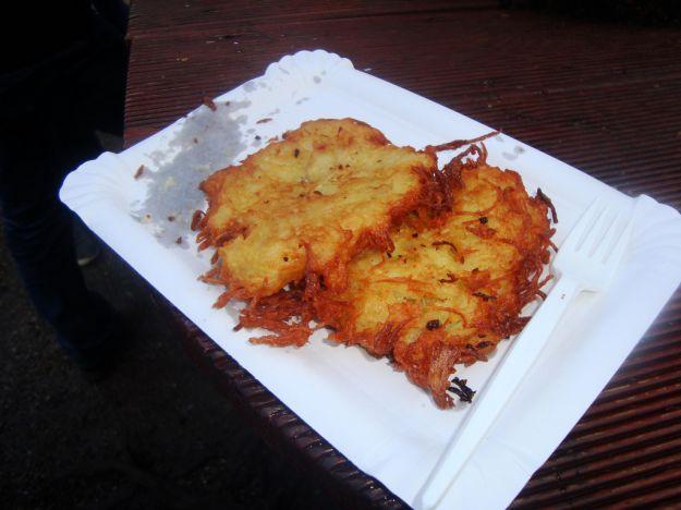 frittelle di patate ad alberello