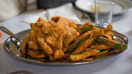 Il fritto misto di carne e verdure