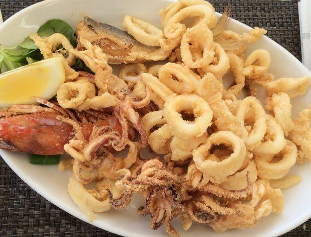 frittura di pesce napoletana