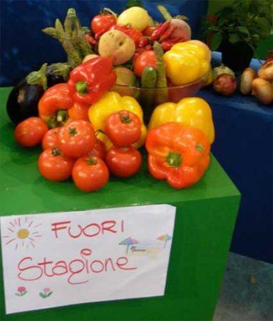 Frutta e verdura fuori stagione