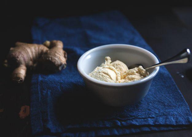 gelato allo zenzero
