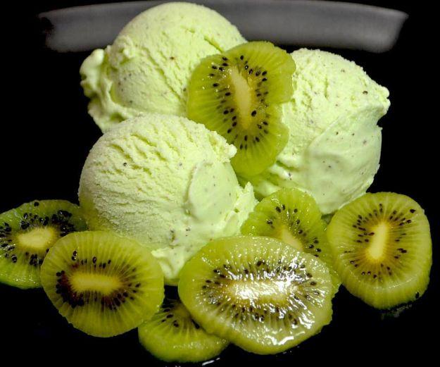 gelato di kiwi