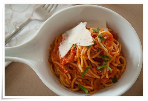 gli spaghetti con le acciughe di Artusi
