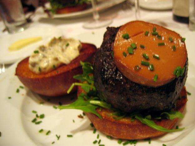hamburger al paté