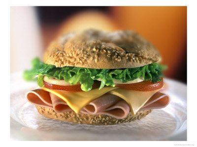 Hamburger con provola e salsa tartara