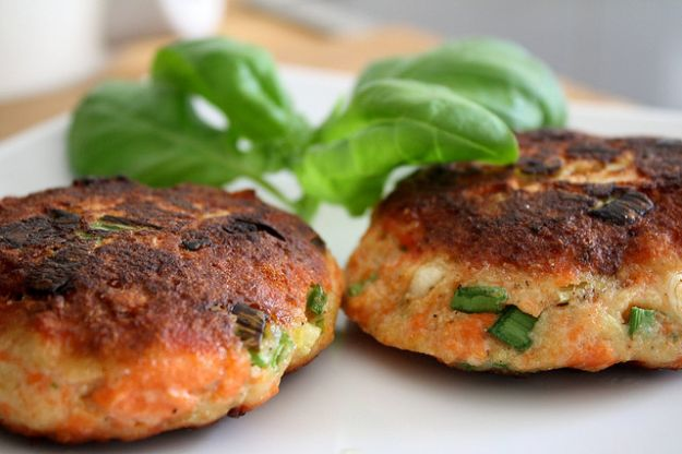 hamburger di salmone light