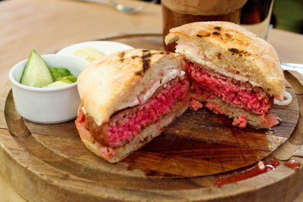 hamburger orientali di agnello