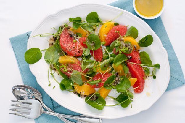 insalata arance cerfoglio