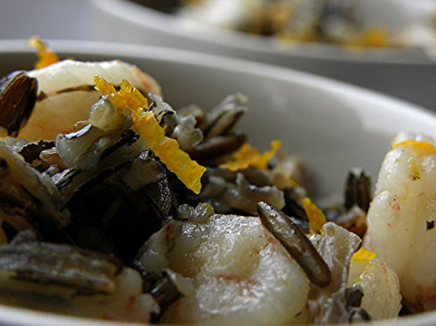 Insalata di baccalà, arance e olive