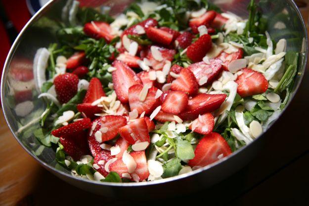 insalata di fragole 2