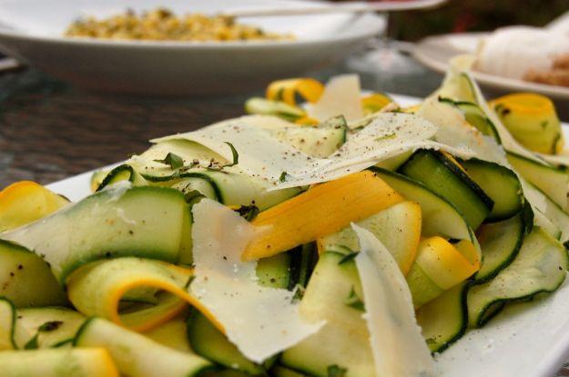 Shaved Zucchini Salad