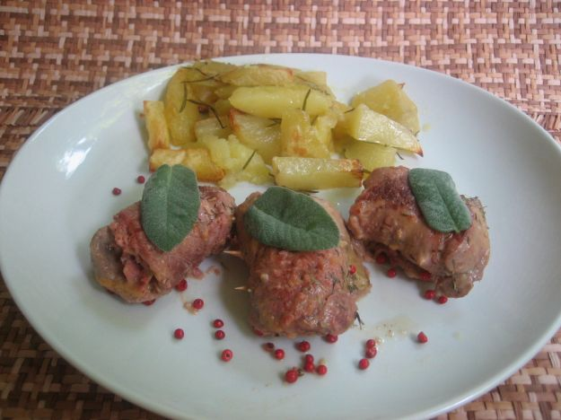 involtini di vitello con patate