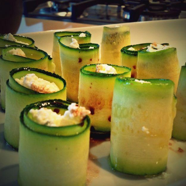 involtini di zucchine alla ricotta