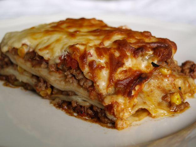 Lasagne al forno di crepes