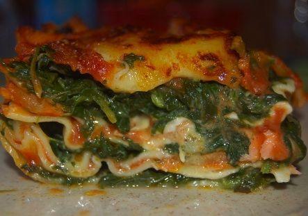 lasagne al forno spinaci