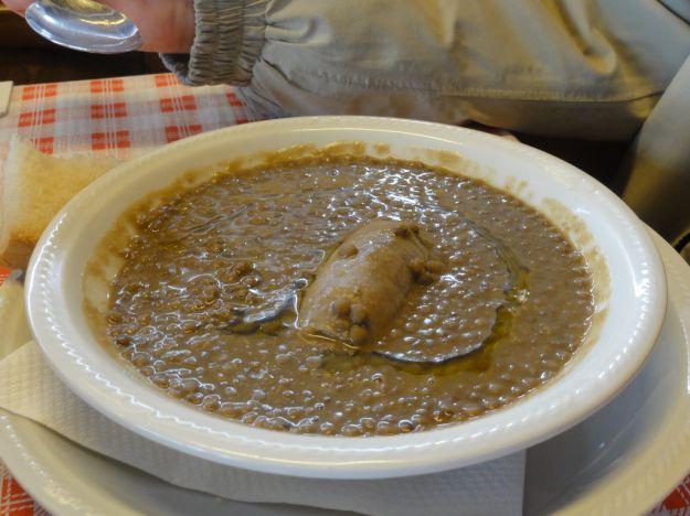 lenticchie e salsicce 1