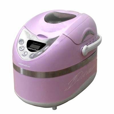 macchina del pane rosa