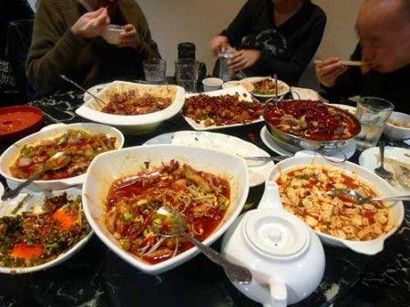 menu cucina cinese