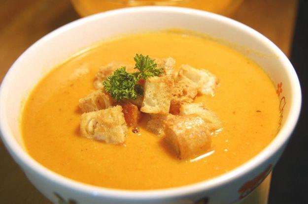 minestra di zucca al latte 1