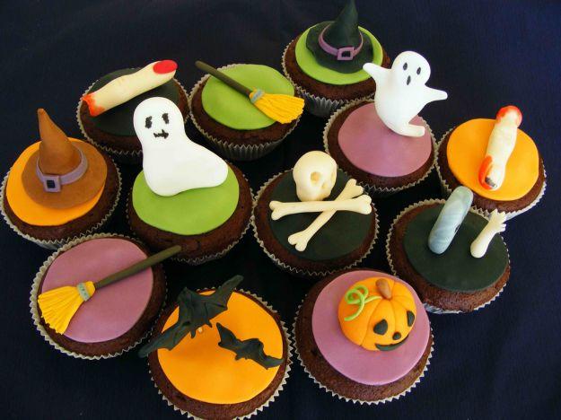 Mini cupcakes di Halloween