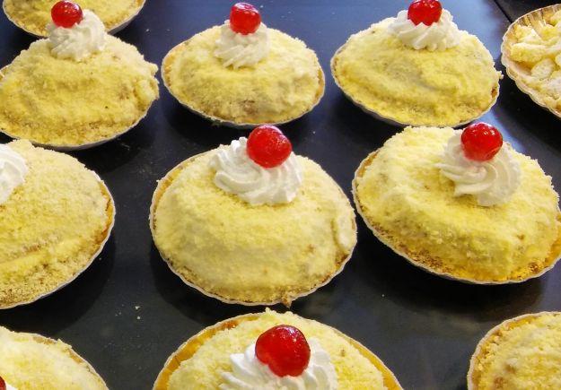 mini torte mimosa