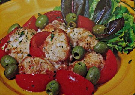 Mormora alle olive in padella