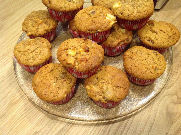 muffin alle castagne 1